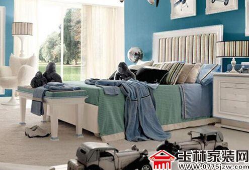 小男生卧室风格设计