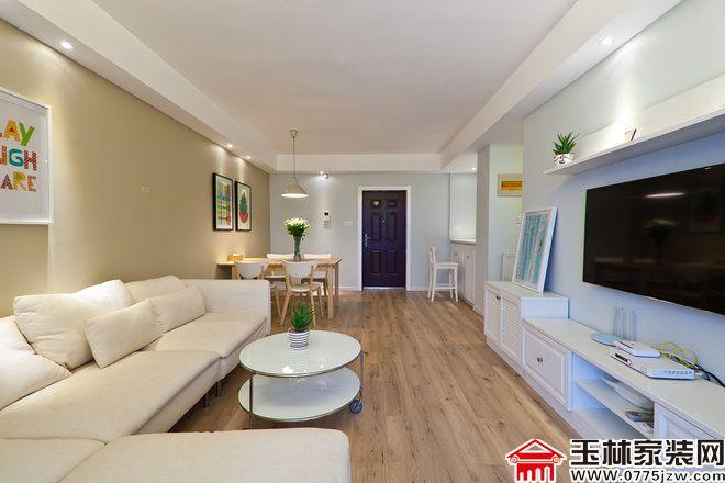 5万装修80平简约两居室 舒适简洁的空间
